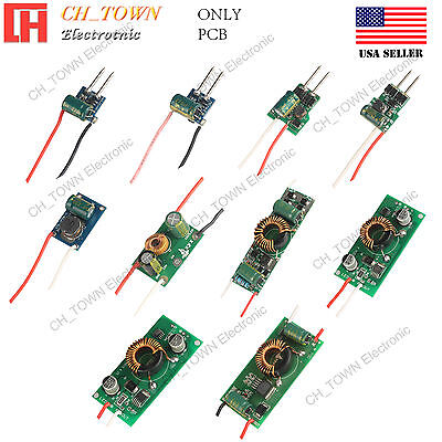 Power Supply 3W 10W 20W 30W 50W DC12V 24V to DC3-38V Constant Current LED Driver