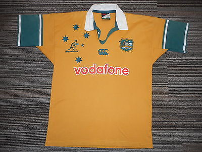 Australian Wallabies Rugby Jersey Mens Large