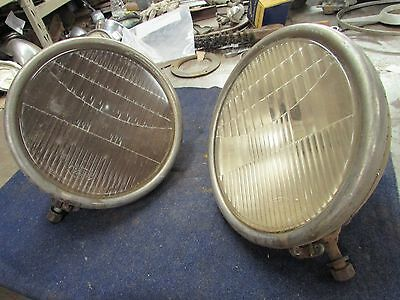 1930,31 Ford Model A Head Light Buckets and Lens