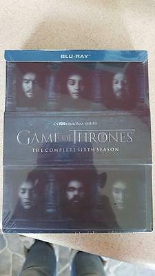 Game of Thrones - Season 6 Blu-ray New sealed