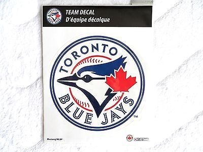 BIG ! 12cm TORONTO BLUE JAYS OFFICIAL LOGO DECAL STICKER Baseball Canada NEW