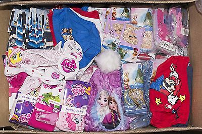 Job Lot of Brand NEW Chidrens Kids Licensed Clothing Disney Paw Patrol Frozen