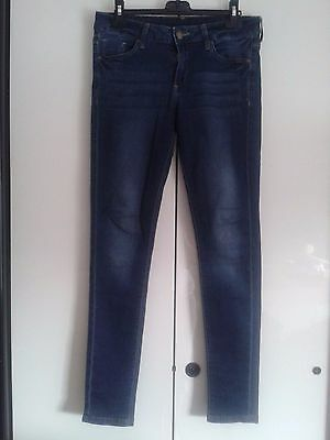 "Jeans Donna Ragazza ""Denim & Co"" Tg. UK 12 Denim & Co 1969 Originali Occasione"