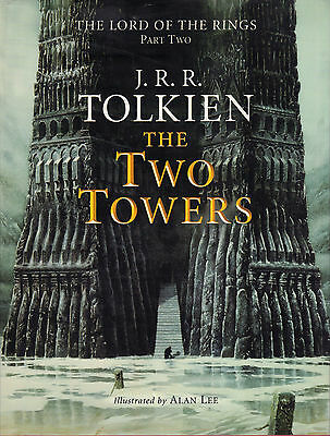 THE TWO TOWERS (LORD OF THE RINGS 2) - J.R.R. Tolkien & Alan Lee (illustrations)