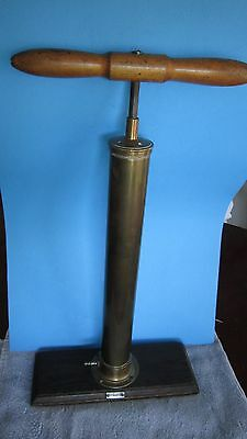 Antique Eimer & Amend Fisher Scientific Co Brass Air Pump and/or Air Vacuum Pump