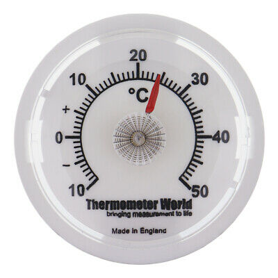 Wall Thermometer 65Mm Dial Room Temperature Gauge Car Office Garage Desk In-038