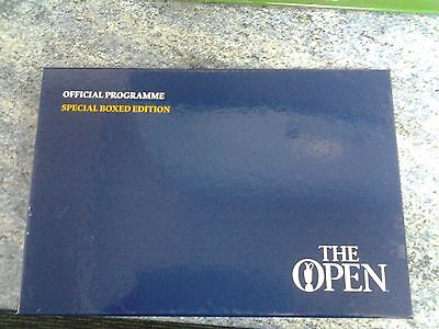 REDUCED THE OPEN GOLF 2015  OFFICIAL PROGRAMME  ST ANDREWS Special Boxed Edition