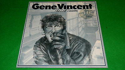 "GENE VINCENT : Night tracks, The last session - Original 1987 12"" EP EX/NM"