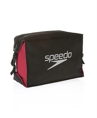 Speedo Pool Side Bag Black Red