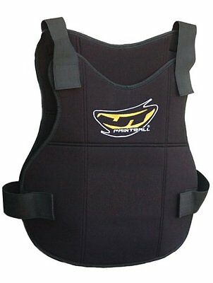 JT Paintball Folding Chest Protector Sport Pad Airsoft Vented Polyester Coolfoam