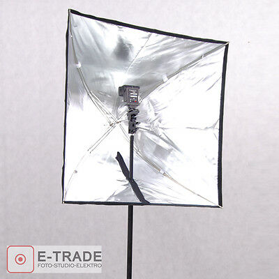 "EU F&V Portable 60x60cm / 24""x24"" Umbrella Softbox Reflector for Speedlight"