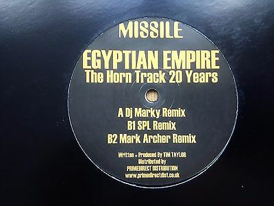 Egyptian Empire ‎– The Horn Track 20 Years : Missile 2.0 ‎MARK ARCHER (Altern 8)