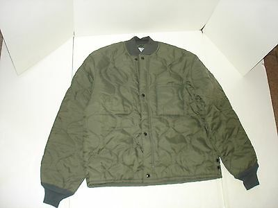 military surplus LINER FLYER'S JACKET CWU-9/P LARGE  NEW