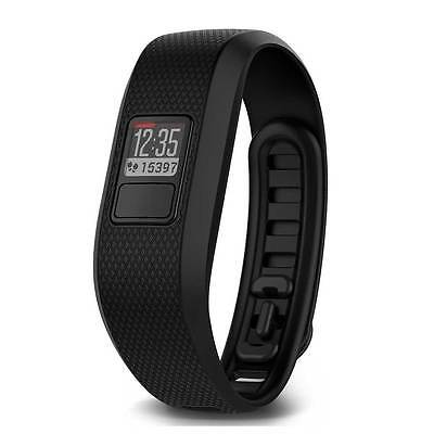 Garmin Vivofit 3 Black Fitness Wrist Band and Activity Tracker Size XL Brand New