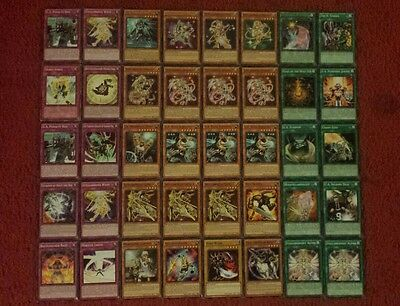 Yu-Gi-Oh Tellarknight and U.A. Deck - 40 cards complete BONUS 5 cards