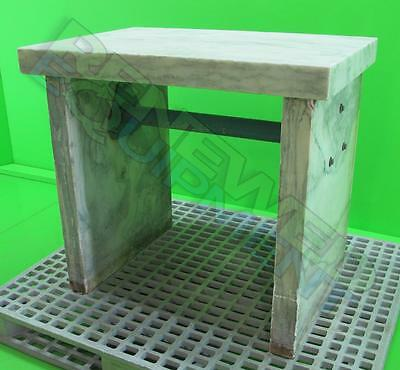 "Marble Anti-Vibration Isolation Table L 24"" x W 35"" x H 31"" #12"