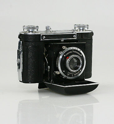 CERTO Dollina-0 35mm Film Camera c.1937 with Cassar 1:2.9/5cm Lens & Case (KZ23)