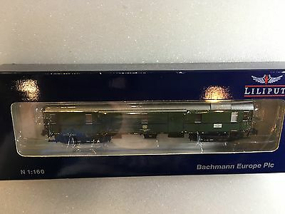 Liliput L364557 - N Gauge Baggage Coach DB EP IV - New Sealed - Tracked 48 Post