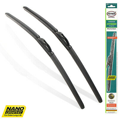 "BMW E60 E61 E63 E64 2003-2010 windscreen WIPER BLADES 24""23'' TWIN PACK"
