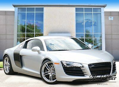 2009 Audi R8 Base Coupe 2-Door 2009 Coupe Used Gas V8 4.2L/254 6-Speed Automatic AWD Silver