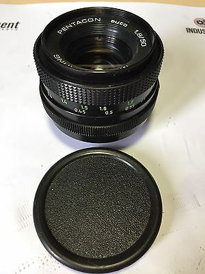 Pentacon Multi Coating 50mm f1.8 Auto Prime Lens, M42 Screw Fit