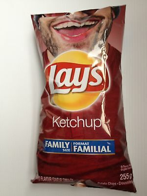 Lay's Ketchup Potato Chips 255g FRESH. From Canada