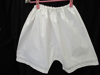 VINTAGE COTTON FRENCH KNICKERS, Very generous size, perfect condition