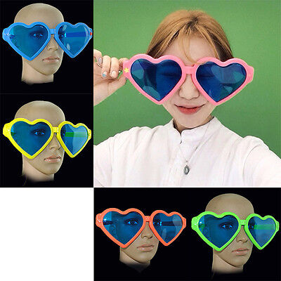 Large Funny Joke Glasses Sunglasses Heart Shape Party Oversized Glasses