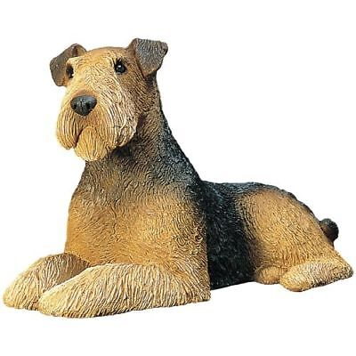 New Sandicast Mid Size - Airedale Terrier