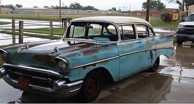 1957 chevrolet bel air chevy hot rod v8 complete restoration project