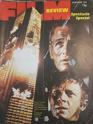 Film Review January 1975 Front Page Towering Inferno #i