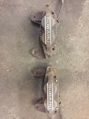 Subaru Impreza 4 Pot Brake Calipers Front Gc8 Wrx