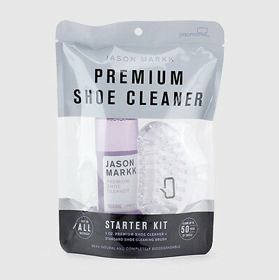 Jason Markk Premium Shoe Sneaker Cleaner Starter Kit Cleaner & Cleaning Brush