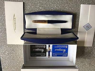 Waterman Edson fountain pen. Never used first series.