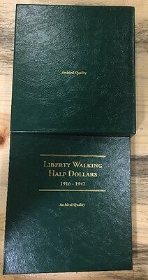 Complete Set Of Walking Liberty Half Dollars Set (65 Coins) 1916-1947
