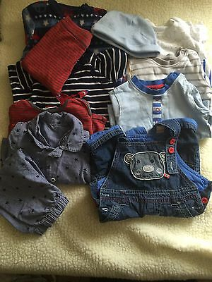 Pre-owned/3-6 Month/ Boys Clothes Bundle B3