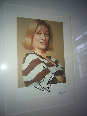 Lovely Victoria Wood Signed / Autographed  Portrait Photo
