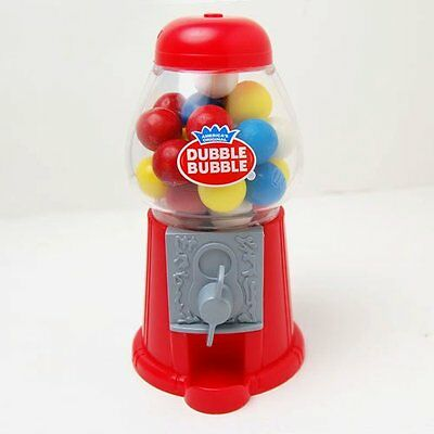 Dubble Bubble Gumball Coin Bank Dispenser