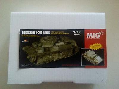 mig productions Russian T-28 tank 1/72