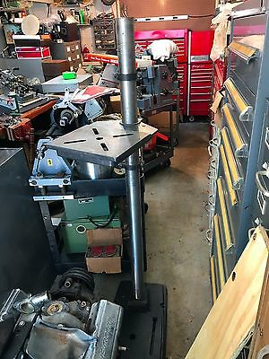 Vintage USA made Craftsman drill press floor base 2-3/4 in tube