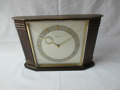 Kienzle Tischuhr 8 Tage Werk 1950er Heinrich Möller Design - Wind Up Table Clock