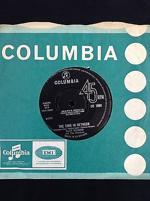 CLIFF RICHARD & SHADOWS: THE TIME IN BETWEEN 1965 Columbia 45 DB7660 rare single