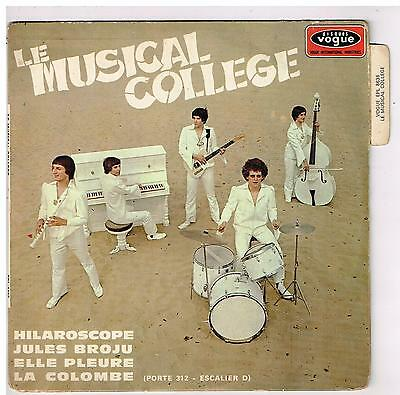 "Le MUSICAL COLLEGE   hilaroscopre  7"" EP 45 tours"