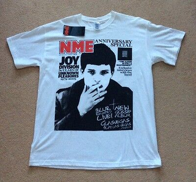 NME Joy Division T Shirt Anniversary Special 30 Years Size Large BNWT *FREE P&P*