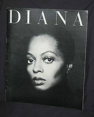 Diana Ross 1976/1977 Tour Program     Great condition          RARE!