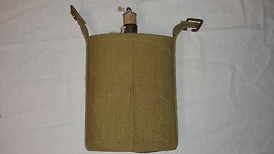 WW2 WWII Canadian British Pattern 37 Webbing Canteen