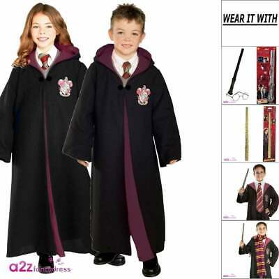 Harry Potter Hermione Granger Gryffindor Robes Accessories Halloween Fancy Dress