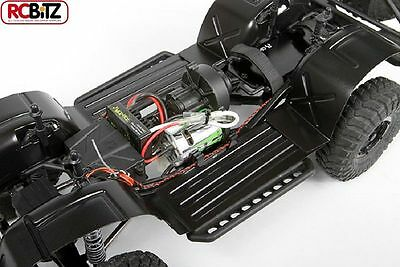 """AXIAL SCX10 WHEEL WELLS .04"""" CLEAR Protect your electronics AX31150 Floor Pan"""