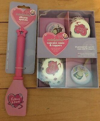 MINIAMO PINK Fluttercup & friends Children's baking gift set cupcake & spatula