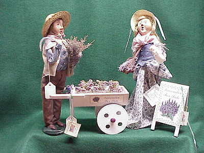 2002 Byers Choice Carolers 4 piece Lavender For Sale Set  Perfect! by187